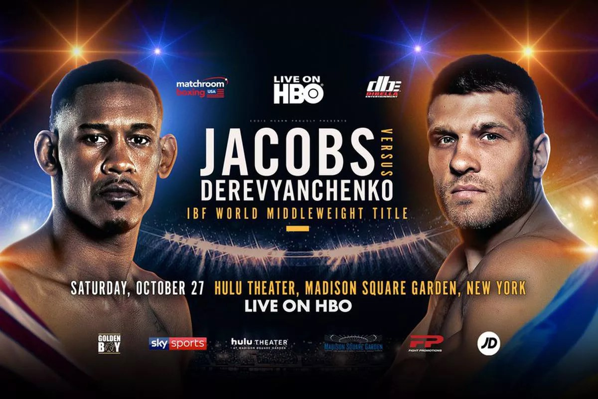 Daniel Jacobs vs. Sergiy Derevyanchenko: The Perfect Curtain Call for HBO Boxing